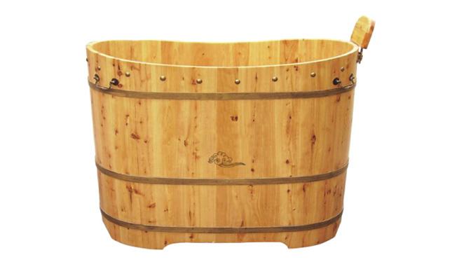 草木香柏木桶浴缸沐浴桶洗浴浴盆沐浴桶 泡浴泡澡木桶RY014