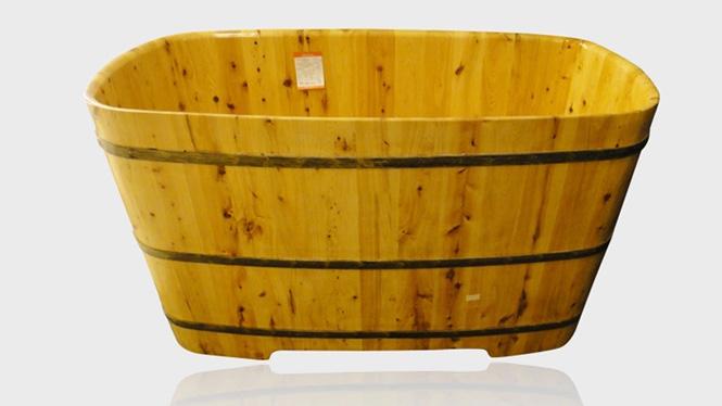 香柏木洗澡桶泡澡木桶沐浴桶纯实木浴缸木桶RY021