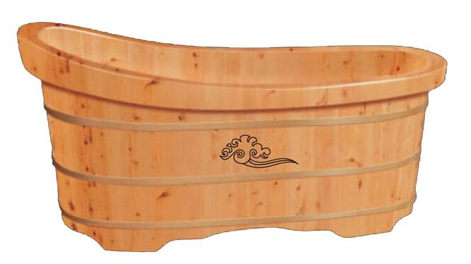 香柏木桶浴桶 泡澡木桶浴缸沐浴桶 成人洗澡木桶浴盆RY025