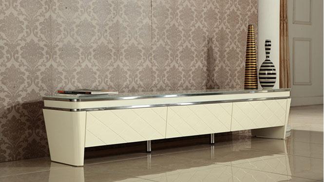 电视柜客厅钢化玻璃长方形可储物简约现代茶几电视柜套餐组合M956