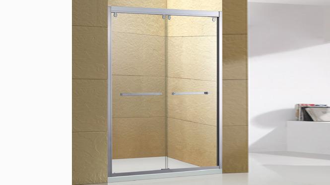 铝合金淋浴房 钢化玻璃 移门 一字型淋浴房1558