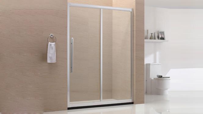 一字型淋浴房隔断屏风定制 简易卫生间洗浴房浴室7538