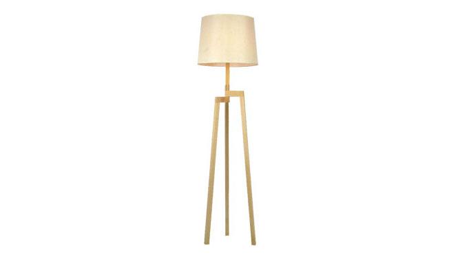 现代简约时尚落地灯北欧宜家实木布艺灯 客厅卧室书房灯具BFL-W450