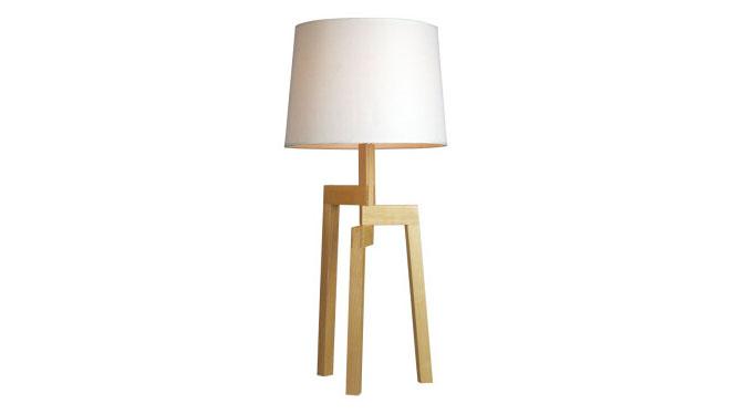 时尚宜家现代台灯简约实木台灯布艺装饰灯卧室床头灯饰灯具BT320