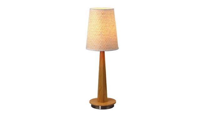 现代简约北欧宜家木艺台灯实木装饰灯床头卧室装饰灯BT933