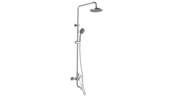 全铜淋浴花洒龙头 大花洒 淋浴柱 带下出水全铜可升降淋浴大花洒龙头 GH9007