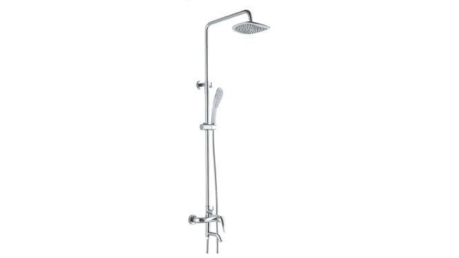升降旋转花洒 增压淋浴器冷热水龙头喷头全套铜 GH9022