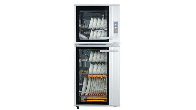 康宝消毒柜立式家用不锈钢消毒碗柜双门立式消毒柜ZTP118A-39
