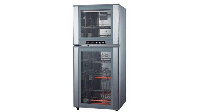 康宝康宝消毒柜立式家用消毒碗柜不锈钢ZTP118F-1