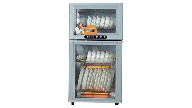 康宝消毒柜高温臭氧立式家用迷你商用 餐具消毒ZTP80A-23