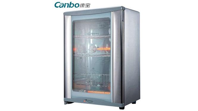 康宝消毒柜 立式 单门家用迷你商用康宝消毒碗柜 消毒柜碗柜RLP60D-7