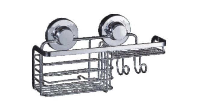 多用途置物篮 304不锈钢 收纳架 组合篮 浴室厨房可用73724