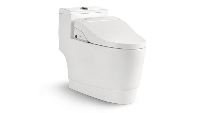 智能马桶自动冲水移动清洗烘干妇洗助便遥控一体式智能坐便器N7