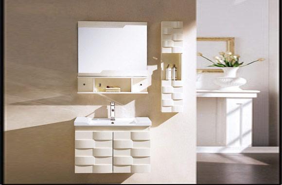 实木浴室柜组合 欧式洗脸盆柜橡木浴室柜吊柜 1000mm600mm700mm800mm900mm KD-BC004W