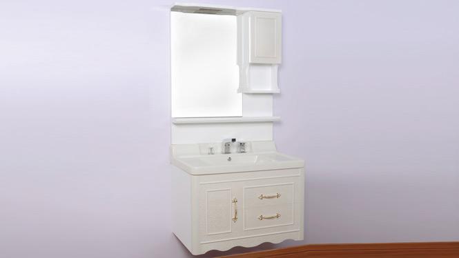 高档实木玉石盆挂墙浴室柜玉石洗脸洗手洗面池台盆柜组合900mm800mm1000mm 80C