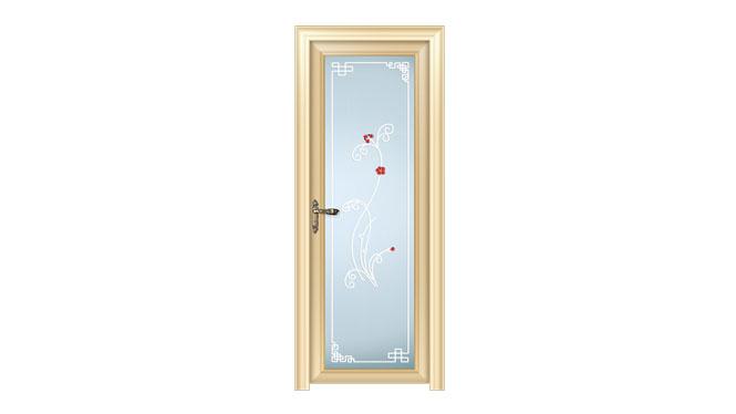 83新弧系列平开门钛镁合金门厨房门房间门厕所门卫生间门 DS1091