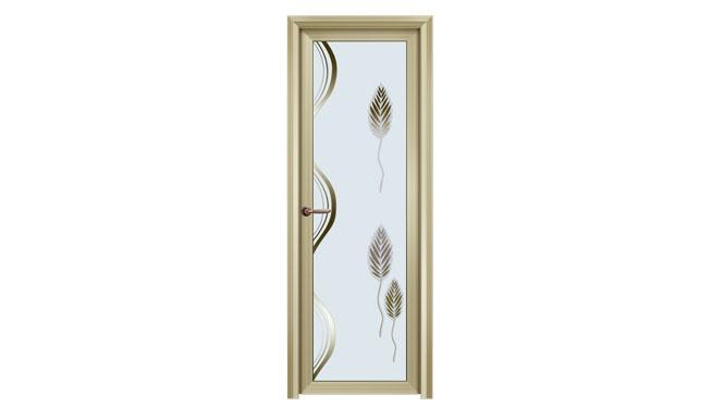 厂家普通间门 铝合金门 厕所门 卫浴 玻璃门卫生新锋厨房门 DS1126