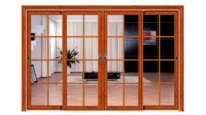 推拉门吊趟门厨房门阳台门客厅门可带金钢网不锈钢纱网 DS1021