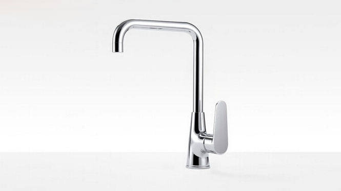 厨房水龙头铜芯主体 冷热旋转石英石水槽 洗菜盆龙头 S037