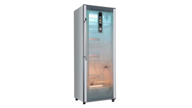 康宝单门高臭氧立式超大容量消毒柜 单门紫外线商用消毒碗柜253LGPR300E-2A