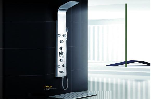 淋浴屏 不锈钢淋浴柱淋浴器龙头花洒套装淋雨喷头套装正品 A-6002#