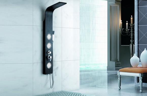 淋浴龙头花洒套装喷淋按摩淋浴屏柱不锈钢淋浴器淋雨喷头 A-6021#