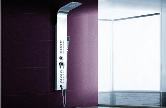 不锈钢淋浴柱淋浴花洒淋浴屏淋浴器龙头头 A-6015#