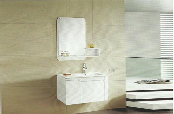 实木橡木浴定柜高级橡胶木 防潮板全实 木多储物格挂墙式浴室柜台900mm VS-0823