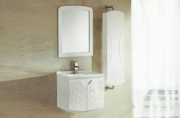实木欧式浴室柜组合梳洗柜挂墙式卫浴柜洁具洗脸盆洗手盆组合610mm VS-0811