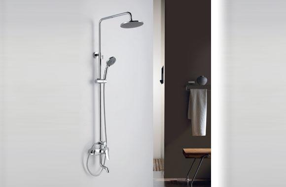 全铜淋浴花洒套装 淋浴器 冷热水龙头 GH-9038