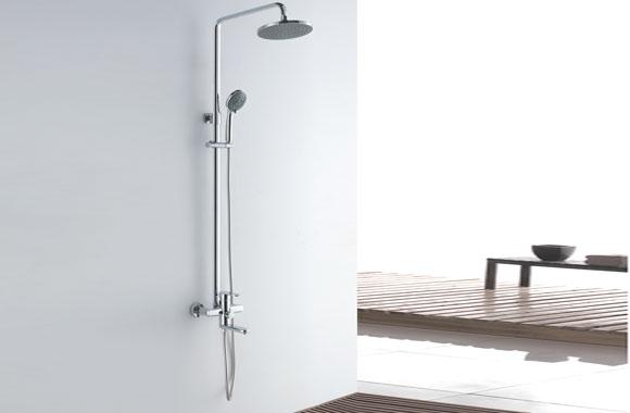 浴室淋浴花洒套装可升降淋浴器圆形 GH-9016