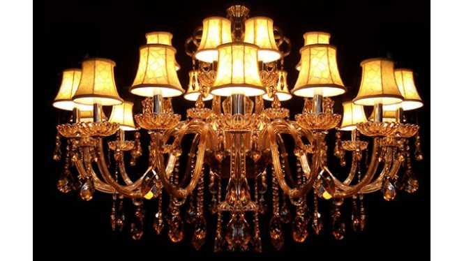 欧式水晶吊灯现代简约水晶蜡烛灯家居酒店欧式吊灯饰DS12