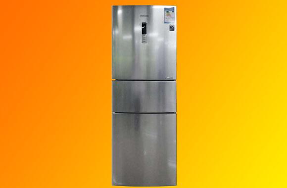 三星(SAMSUNG)BCD-285WMQISL1 285升风冷变频三门冰箱(不锈钢)