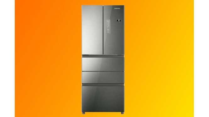 三星(SAMSUNG) BCD-402DRISL1 402L 多门大冰箱 不锈钢银