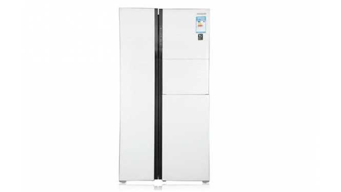 三星(SAMSUNG) RS554NRUA1JSC 545L 对开门 冰箱 白色
