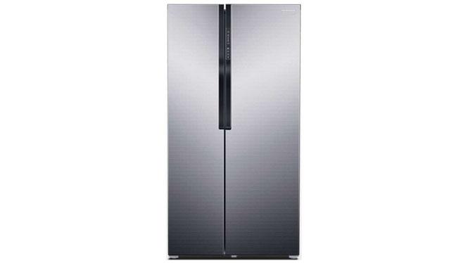 三星(SAMSUNG) RS552NRUA7ESC 545升 对开门冰箱(梦幻银)
