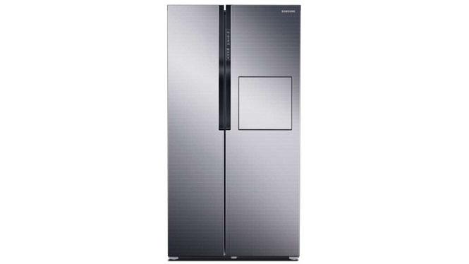 三星(SAMSUNG) RS554NRUA7ESC 545升 对开门冰箱(梦幻银)