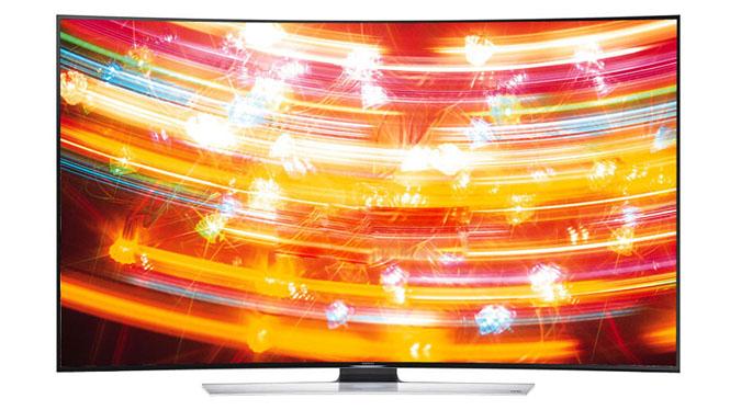 三星(SAMSUNG) UA65HU9800JXXZ 65英寸曲面UHD 4K超高清3D智能电视机