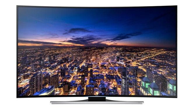 三星(SAMSUNG)UA65HU8800JXXZ 65英寸 曲面超高清4K 3D 智能wifi LED液晶电视