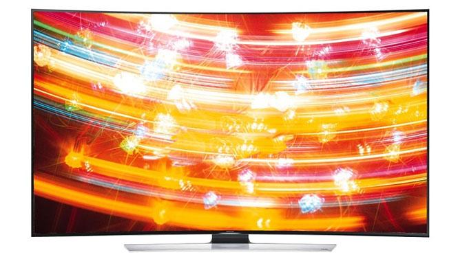 三星(SAMSUNG) UA55HU9800JXXZ 55英寸曲面UHD 4K超高清3D智能电视