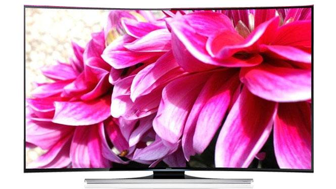 三星(SAMSUNG) UA55HU8800JXXZ 55英寸曲面UHD 4K超高清3D智能电视