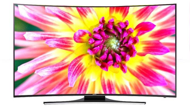 三星(SAMSUNG) UA55HU7800JXXZ 55英寸曲面UHD 4K超高清智能电视机
