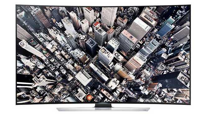 三星(SAMSUNG) UA65HU9800J 65英寸曲面UHD 4K超高清3D智能电视