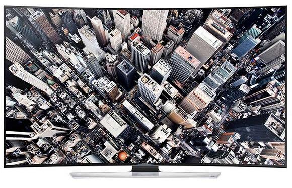 三星(SAMSUNG) UA55HU9800J 55英寸曲面UHD 4K超高清3D智能电视