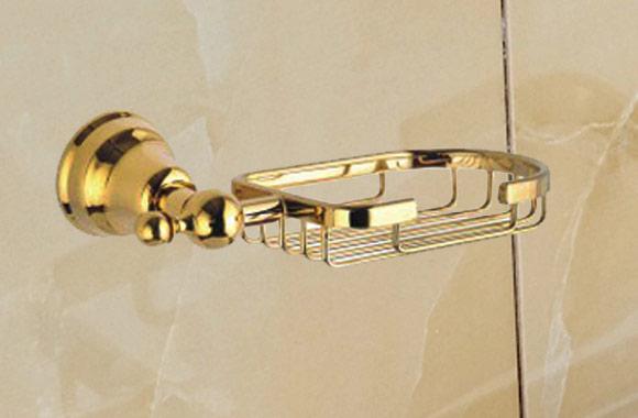 香皂篮 金色皂网 卫浴置物架 卫生间香皂 肥皂 皂盒 7700GP系列 7759-GP