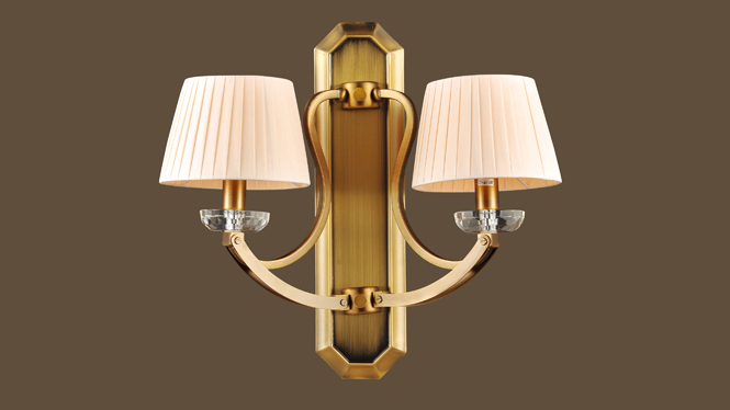 酒店工程灯 简欧现代壁灯 床头壁灯 走廊客厅壁灯 MDS8601-2W