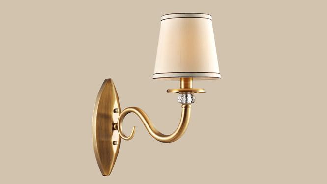 床头壁灯 创意床头壁灯 客厅卧室壁灯 装饰 室内节能MDS8605-1W