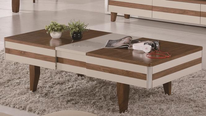 现代简约实木茶几简约客厅新款实木功夫茶桌组合小户型1425#