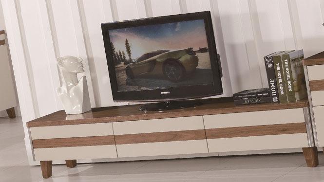 电视柜 实木客厅矮柜卧室地柜简约电视机柜组合1425#