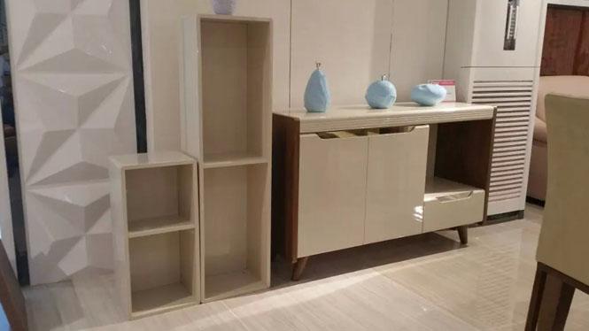 厨房柜子餐边柜储物柜装碗柜实木厨房茶水柜收纳柜碗橱柜1427#